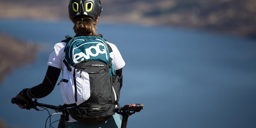 Rug- en fietstassen van EVOC